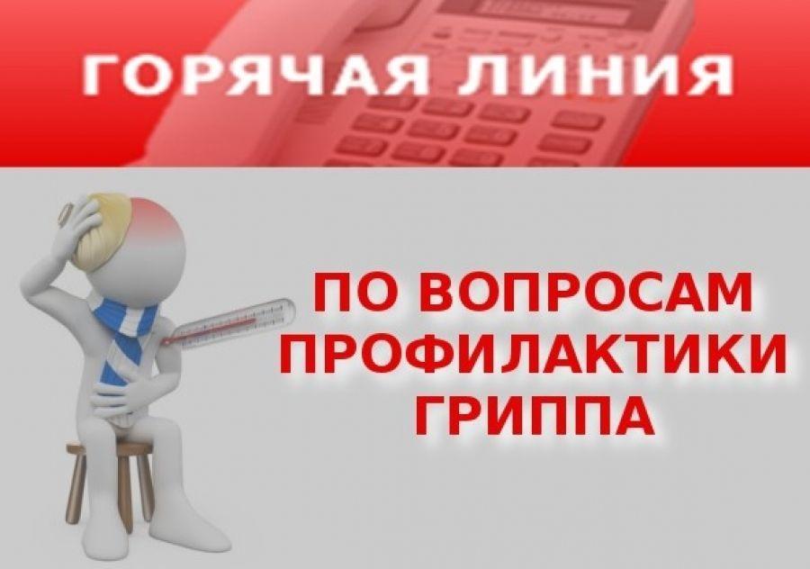 """Роспотребнадзор организует """"горячую линию"""" по гриппу"""