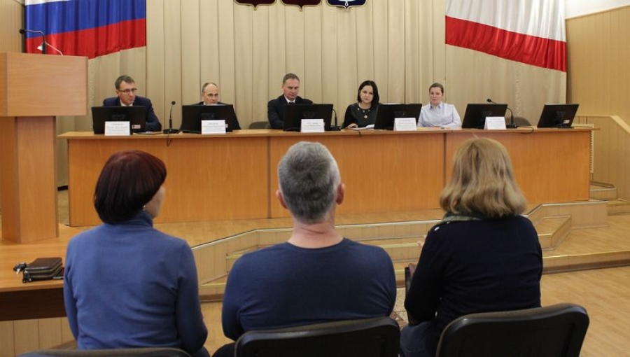 Заседание административной комиссии  района