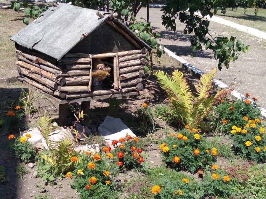 В детском саду села Вязовка красота и уют