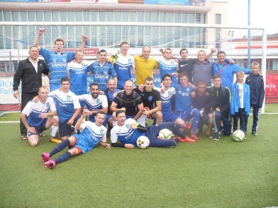 Татищевский «Олимп» стал обладателем переходящего Кубка «Золотой колос»