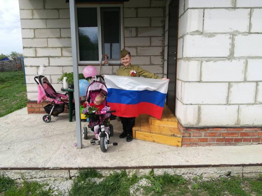 Патриотические акции в честь Дня Победы в Татищевском районе