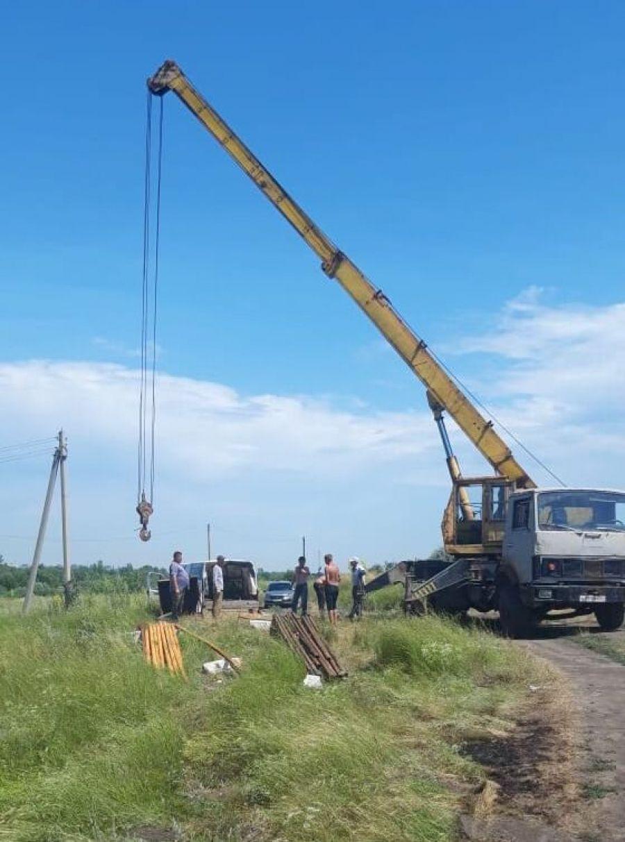 Ремонтные работы скважины на Полигоне