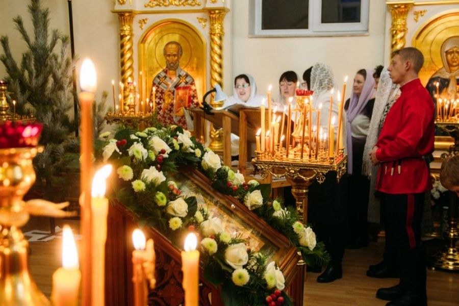 Светлый праздник Рождества Христова