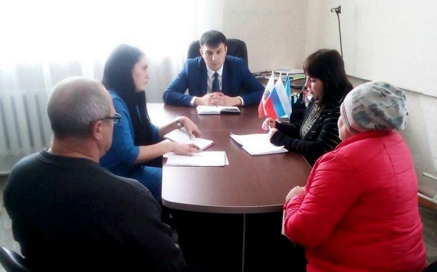 Заседание комиссии по увеличению налоговой базы в Вязовском МО