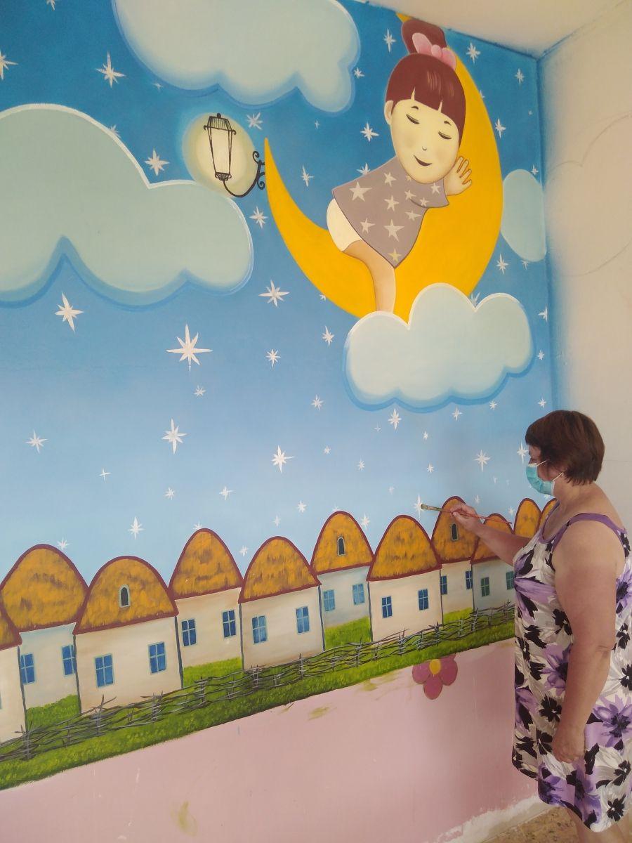 Ремонт в дошкольной группе школы Мизино-Лапшиновка