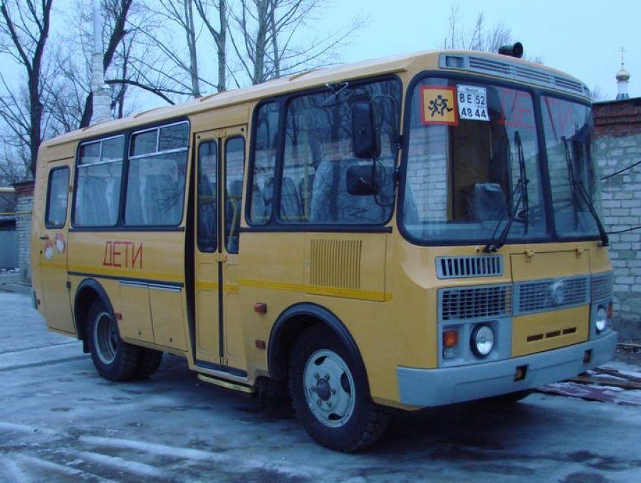 Школьный автобус для детей из д.Ильиновка Сторожевского муниципального образования