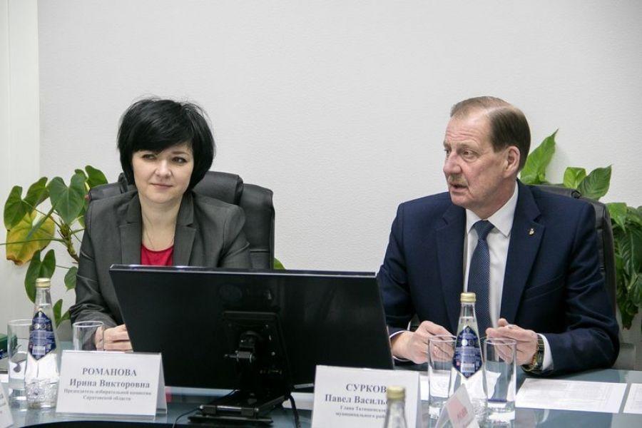 Татищевский район с рабочим визитом посетила Ирина Романова