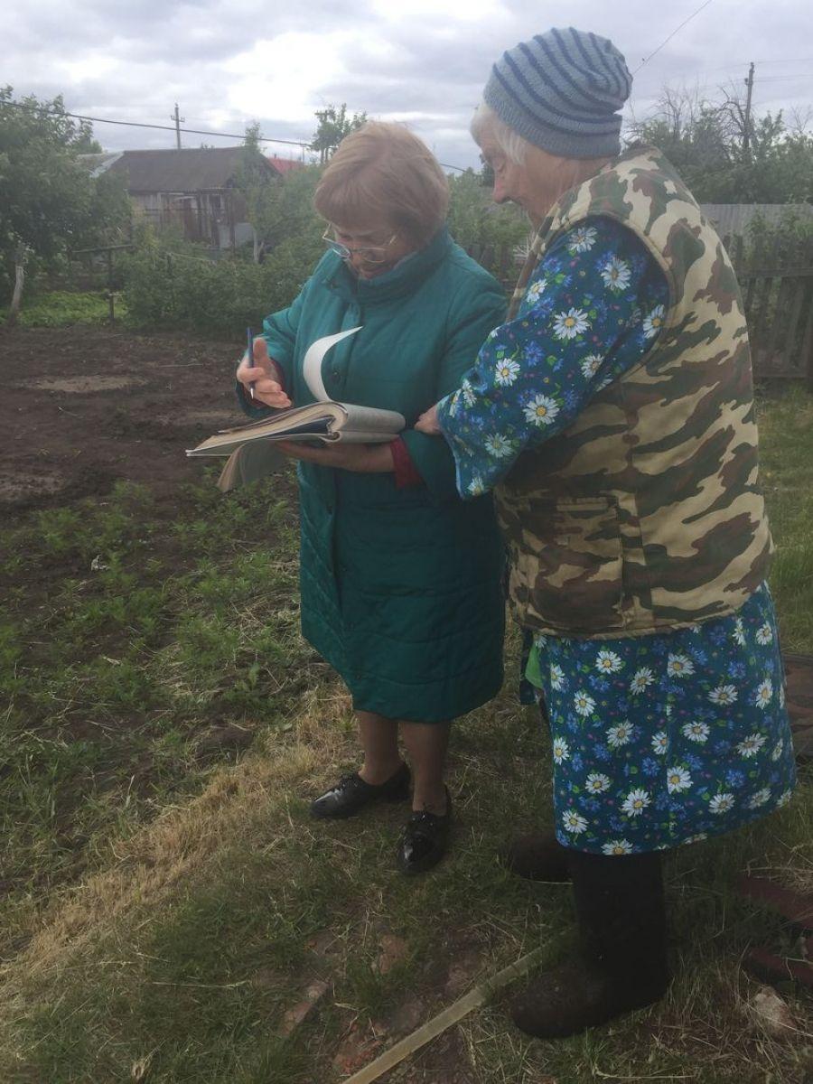 В Садовском МО начался похозяйственный учет