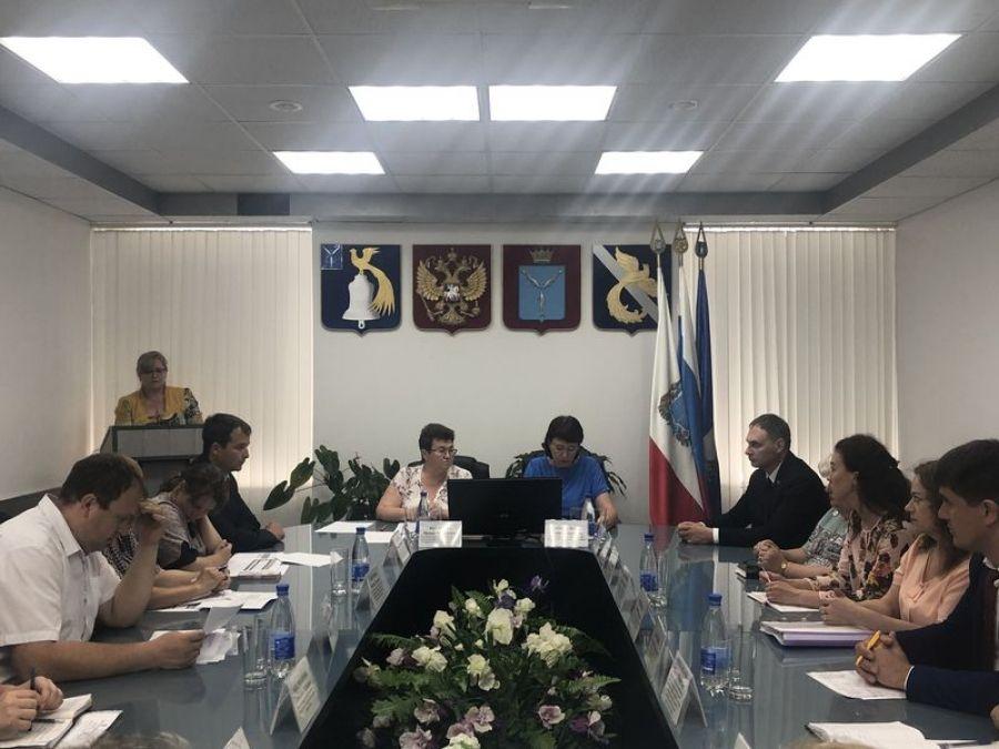 Заседание комиссии по увеличению доходной части консолидированного бюджета в Татищевском муниципальном районе