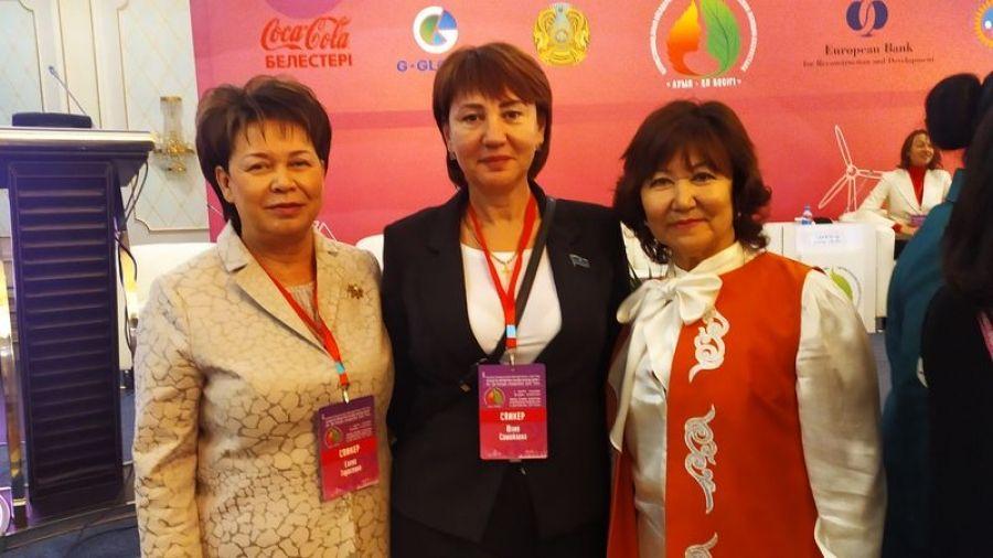 Опыт Татищевского района представлен на форуме сельских женщин Казахстана