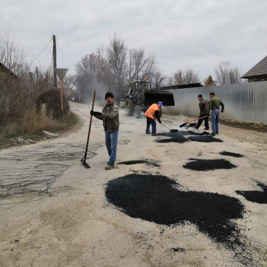 Ямочный ремонт автомобильных дорог