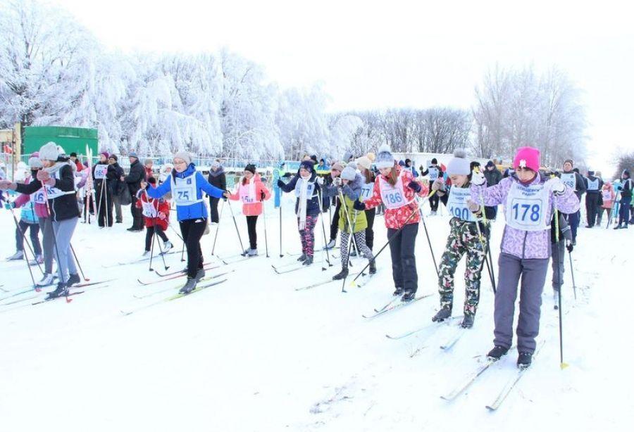 Лыжные гонки в «Дубраве»