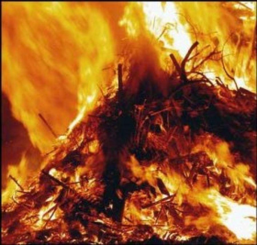 В районе не прекращаются  пожары