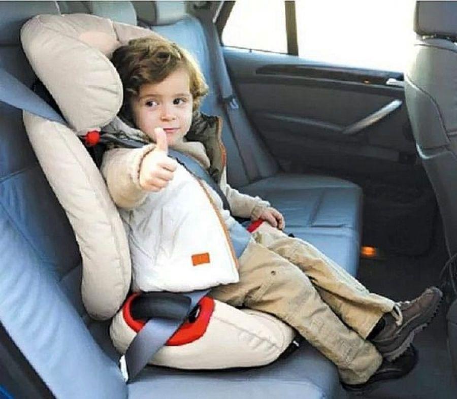 Пристегни юного пассажира