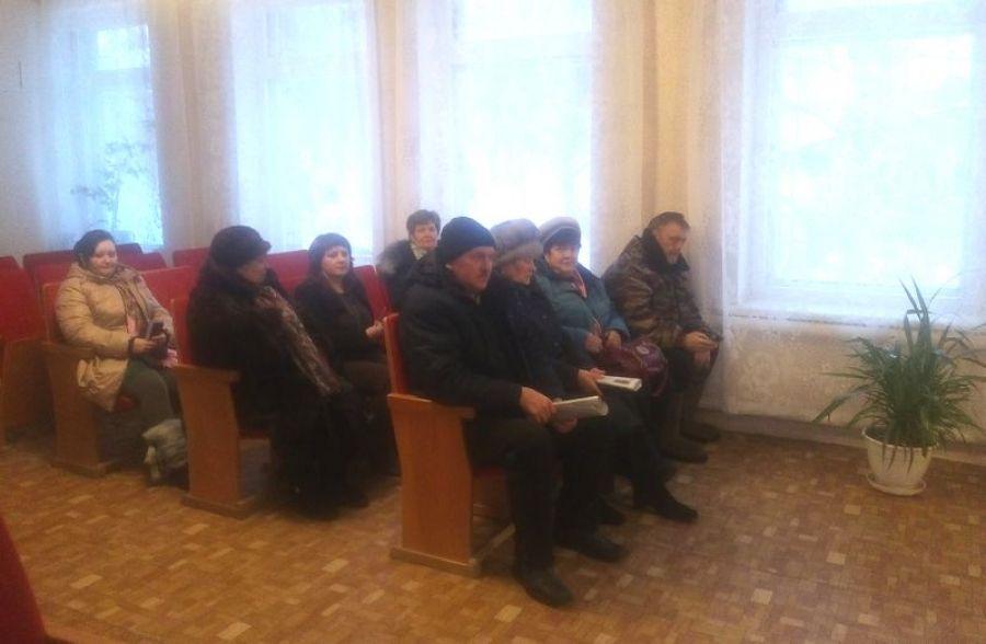 Собрание жителей многоквартирных домов в селе Октябрьский Городок