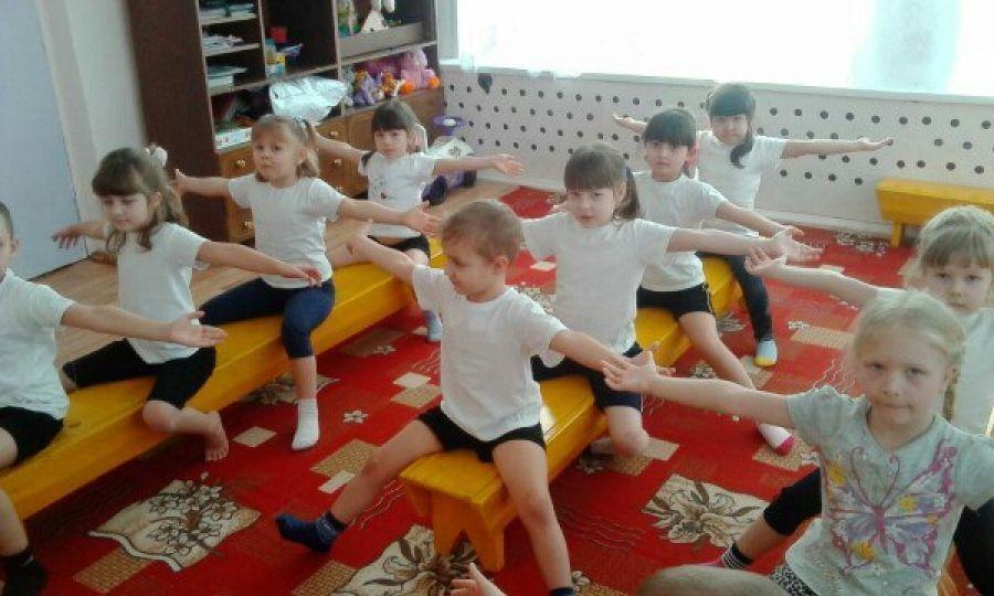Малыши в спорте