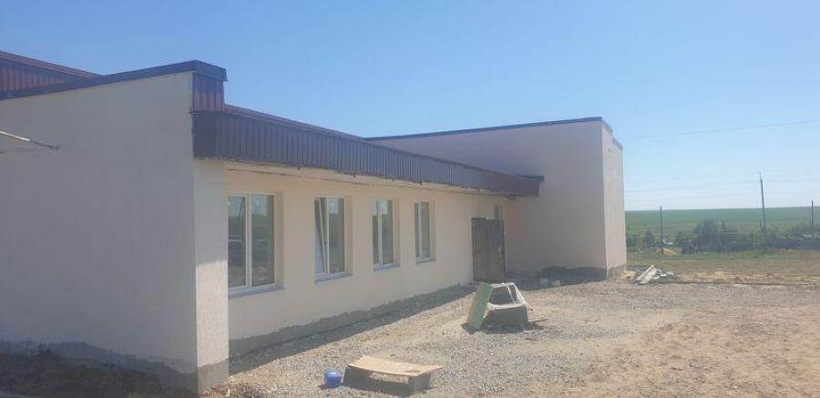 Ремонтно-восстановительные работы клуба с.Куликовка подходят к завершению