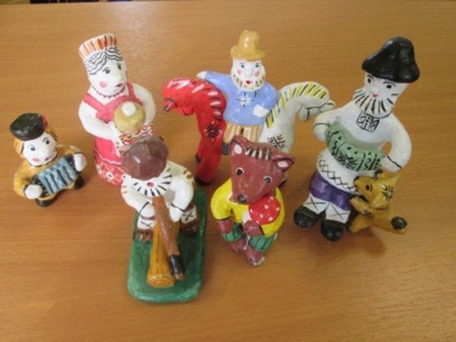Мастер-класс по Каргопольской игрушке