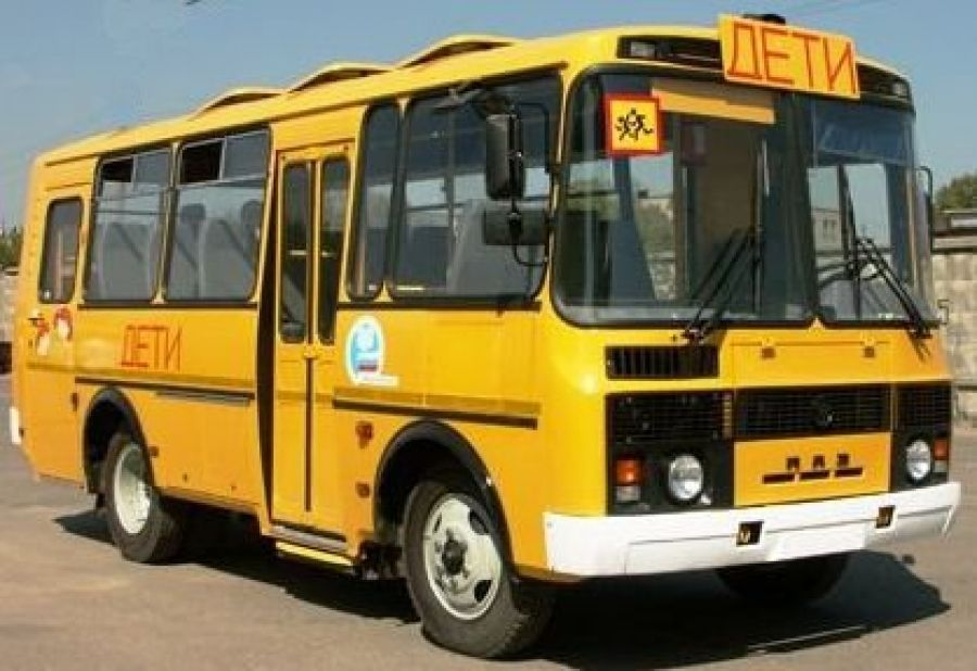 Школьный автобус для ребят из с.Полчаниновка
