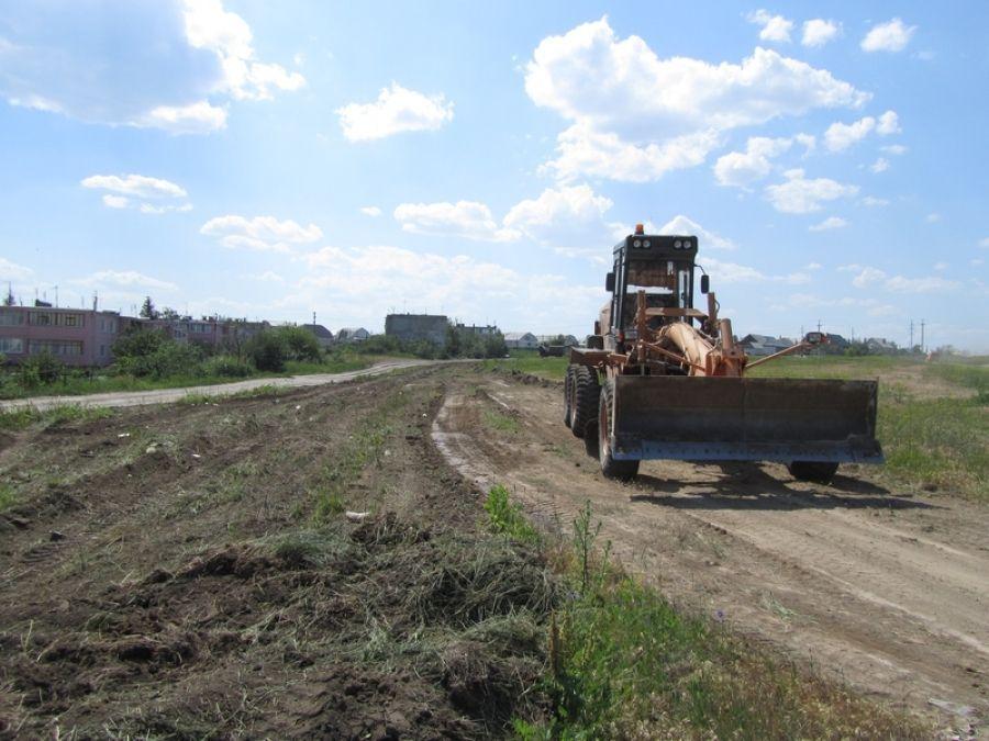 Началось строительство ФОКа в р.п.Татищево!