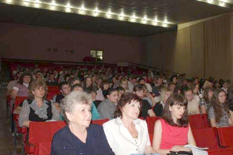 Встреча выпускников школ с представителями учебных заведений