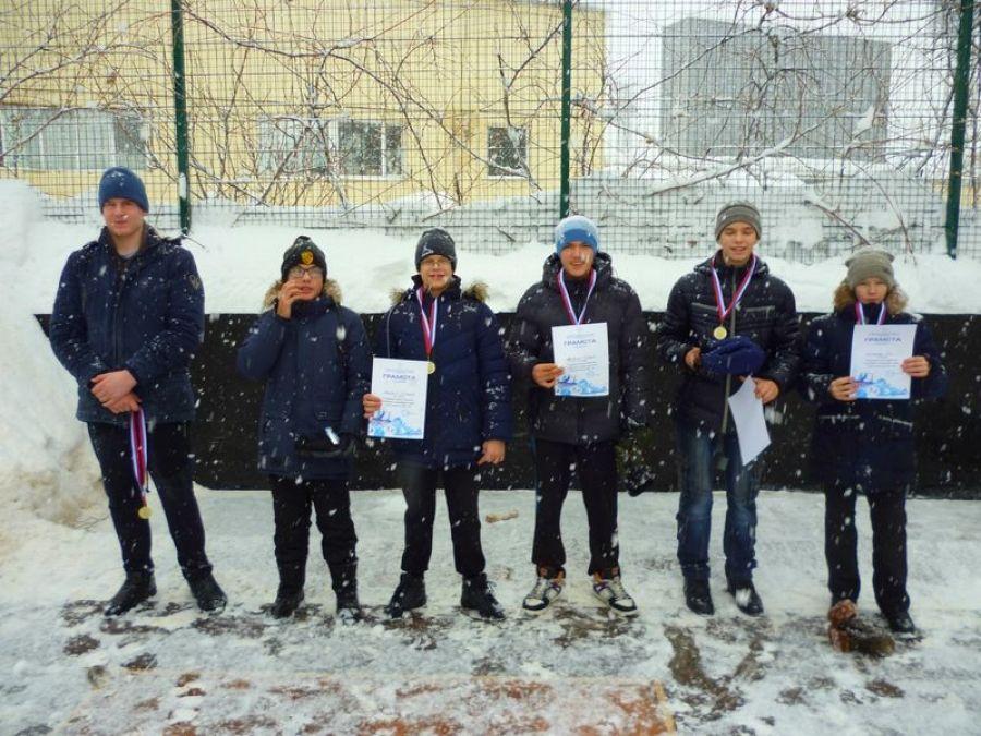 Зимний городошный спорт