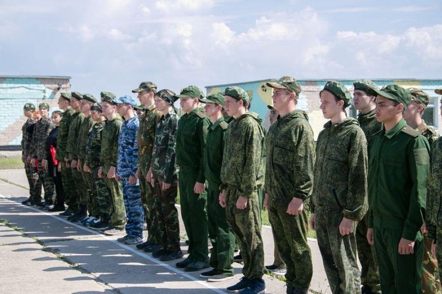 У татищевских школьников начались пятидневные военно-полевые сборы