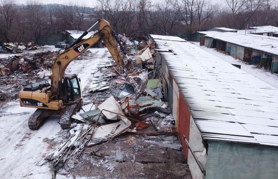 Вниманию жителей Татищево: предстоит демонтаж незаконных построек