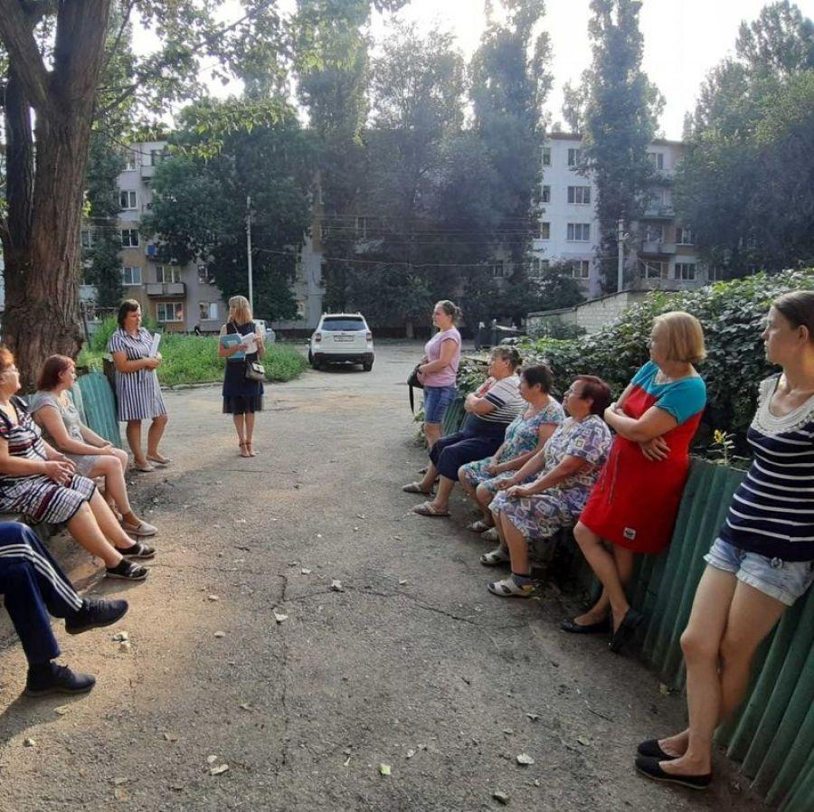 Встреча ВрИП  главы Сторожевского МО с жителями с.Сторожевка