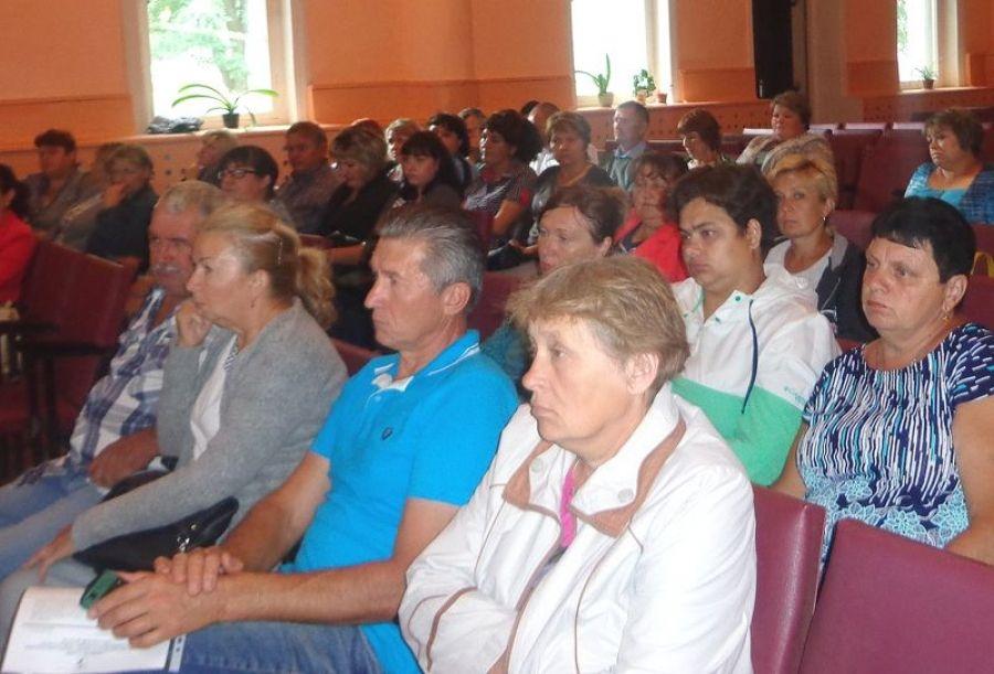 В Ягодно-Полянском МО подвели итоги социально-экономического развития