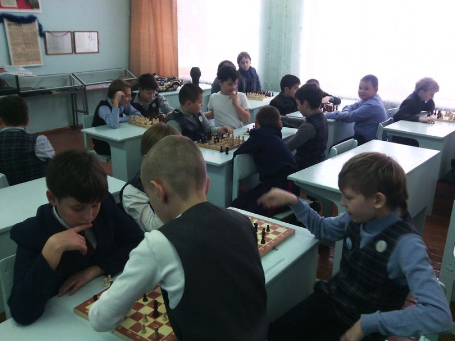 В лицее — новогодний шахматный турнир!