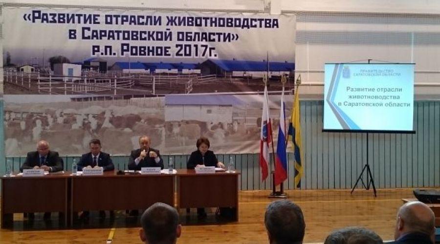 Развитие отрасли животноводства в Саратовской области