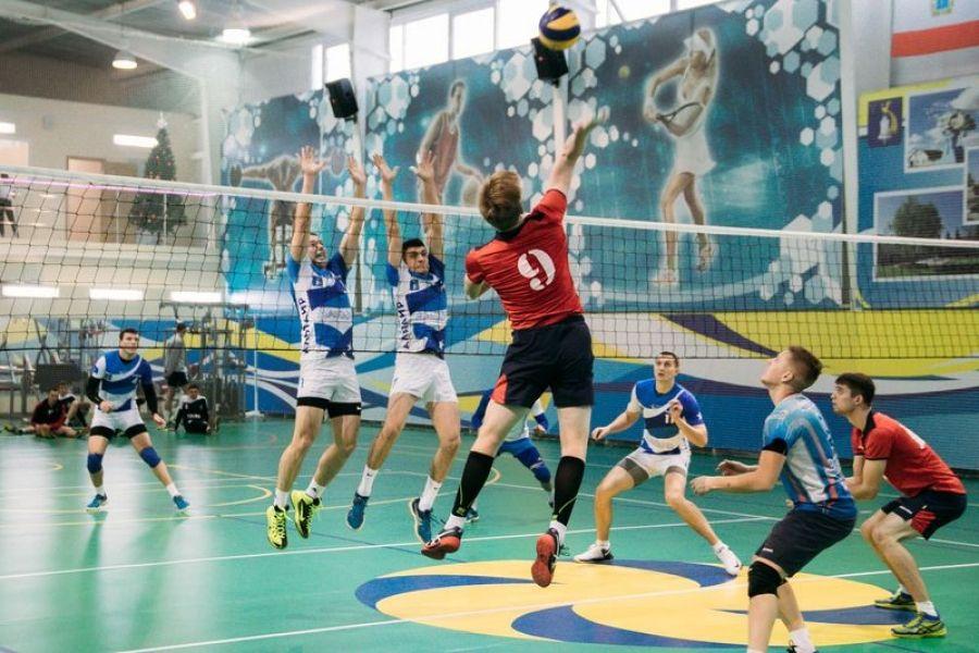 Волейбол: на чемпионате области
