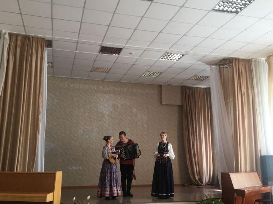 Студенты Саратовской консерватории в Детской школе искусств