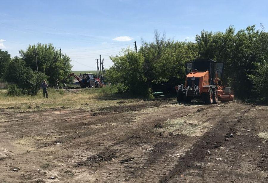 Подготовка к строительству ФАПа в с.Куликовка