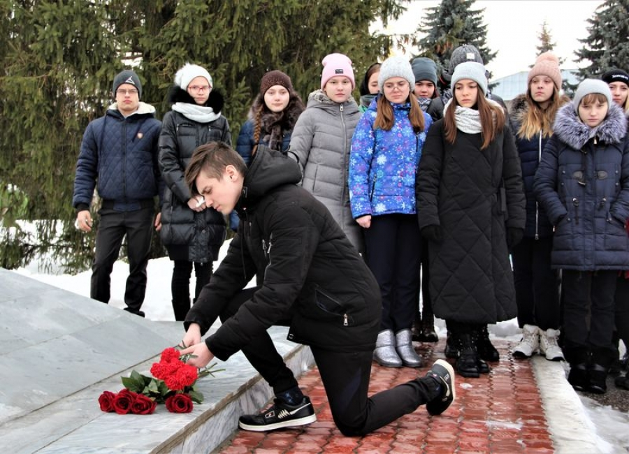 Урок мужества, посвященный Сталинградской битве  и татищевцам, участникам этого сражения
