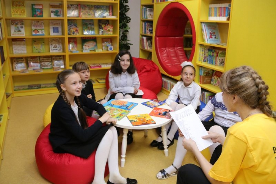 В Вязовке открыли «библиотеку будущего»