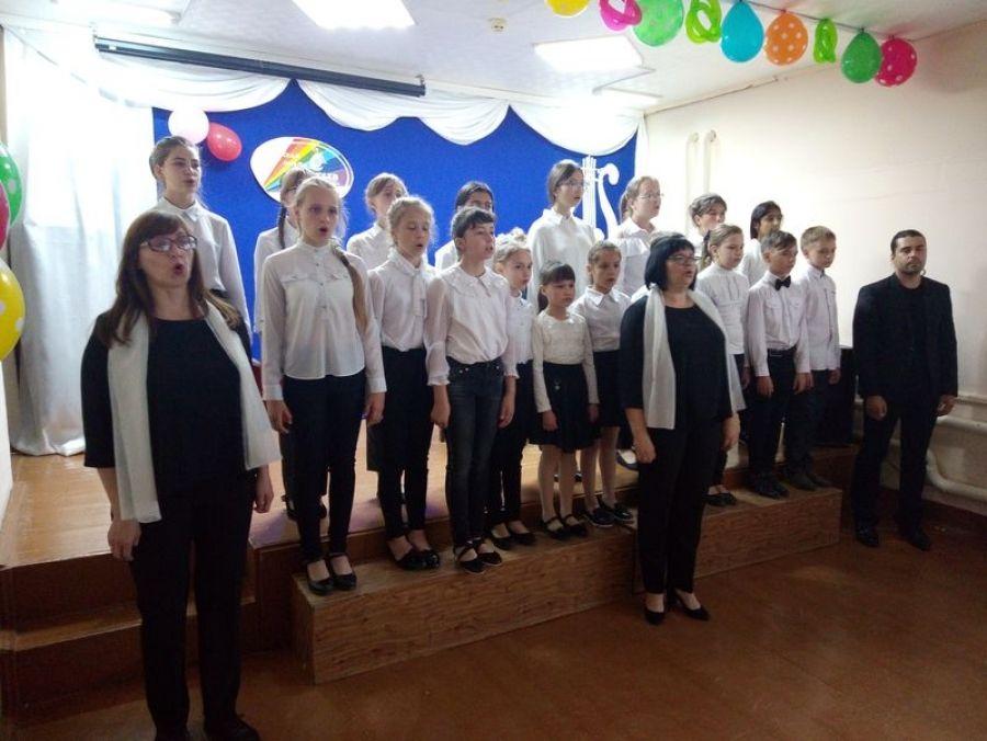 Отчётный концерт в Детской школе искусств р.п.Татищево