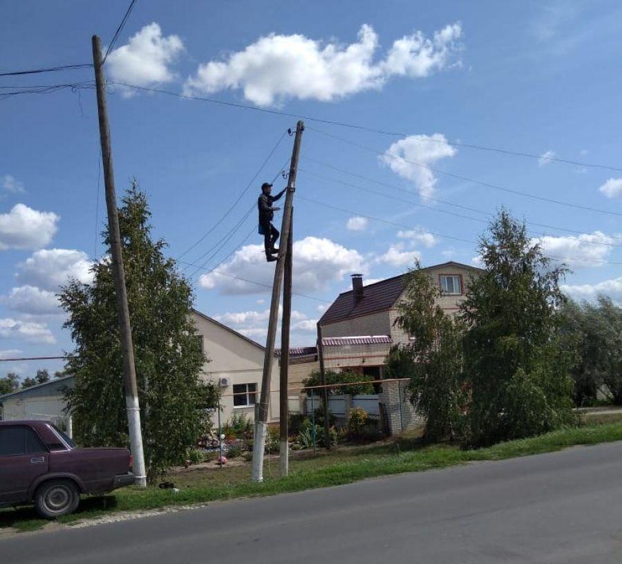 Уличное освещение в Идолгском МО