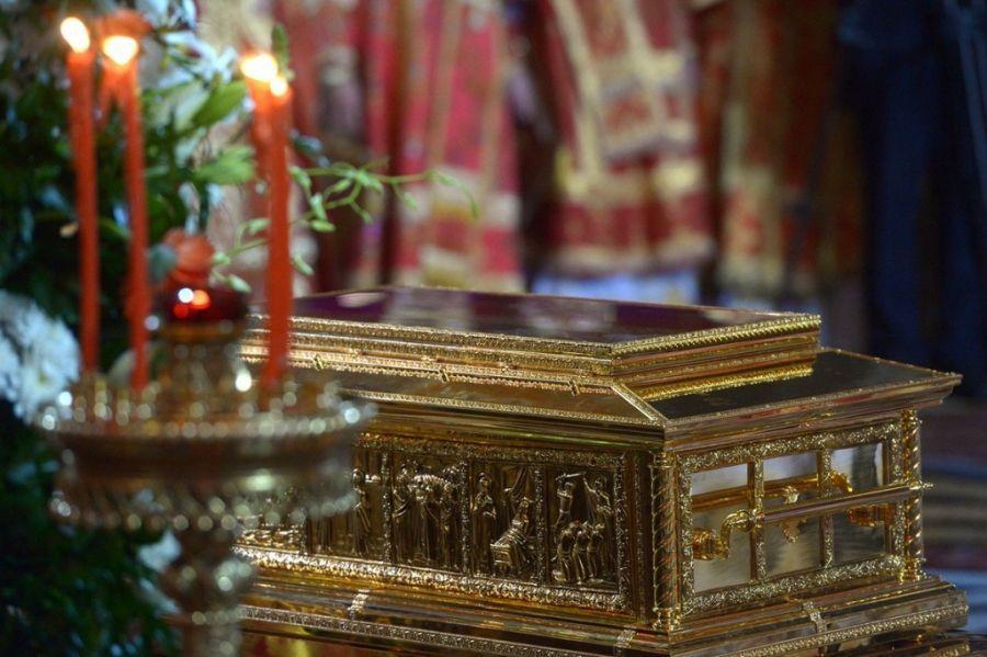 Мощи Святителя и Чудотворца Николая в Татищевском храме