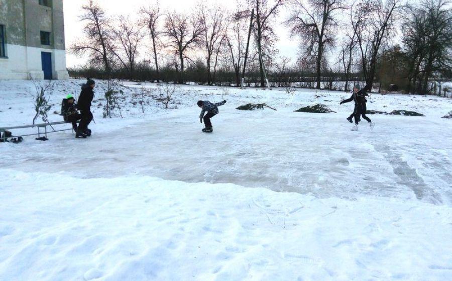 Все на лед!
