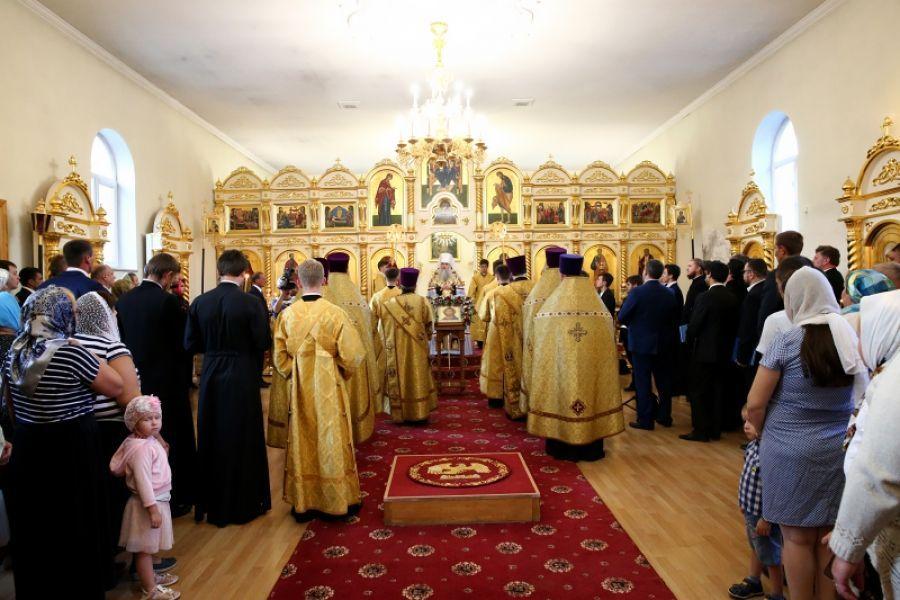 Благодарственный молебен в Казанском храме