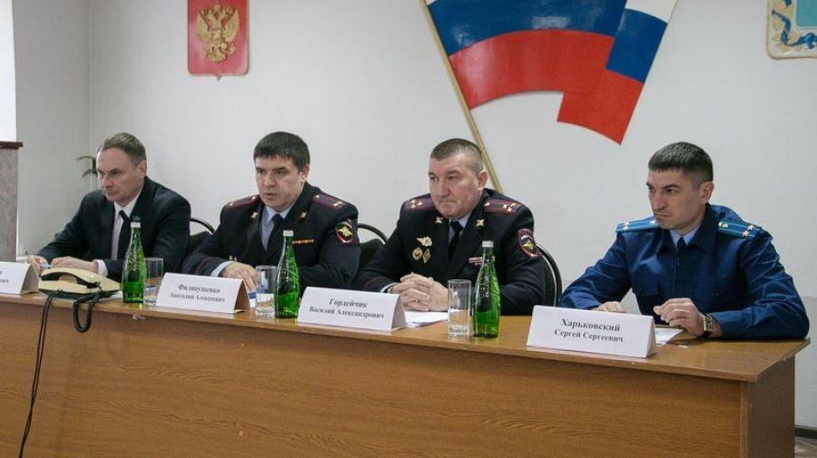 В отделе МВД России по Татищевскому району состоялось оперативное совещание по итогам 2019 года