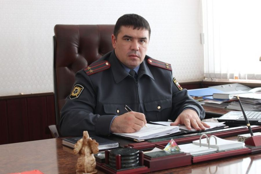 Начальник районного отдела МВД проведёт встречу с жителями р.п.Татищево