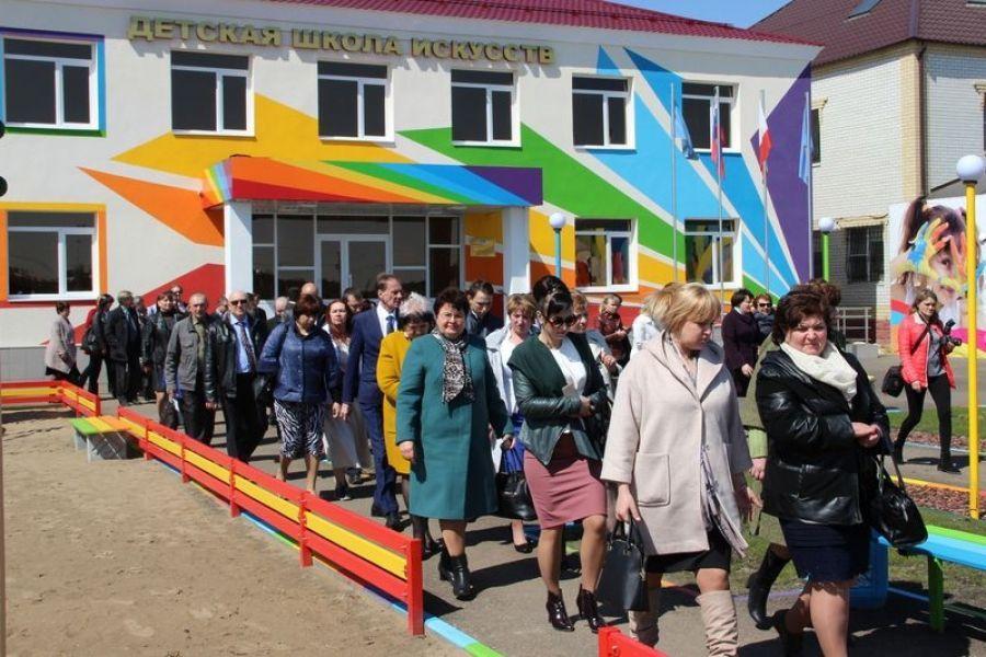 Выездная коллегия Минкультуры прошла в Татищевском районе