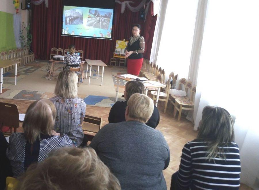 Заседание методического объединения педагогических работников дошкольных учреждений района