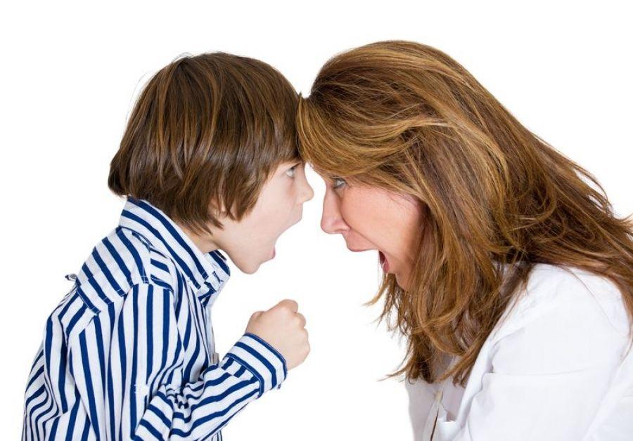 Общение с ребенком без повышенных тонов...