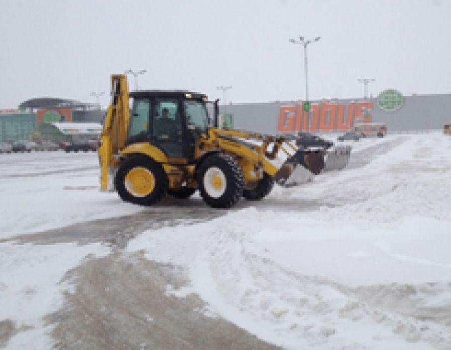 Зимнее содержание дорог