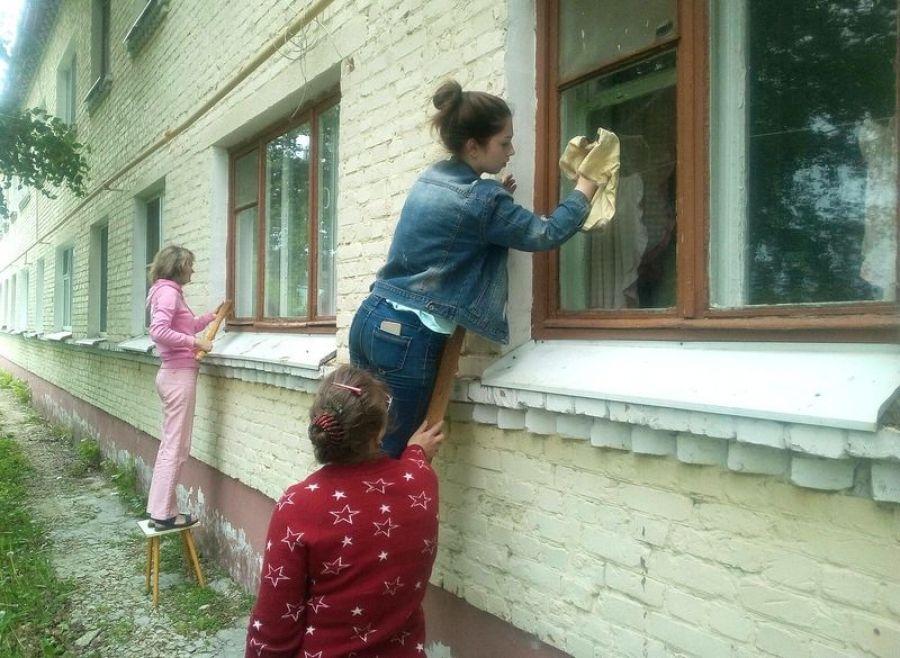 Акция «Чистые окна»