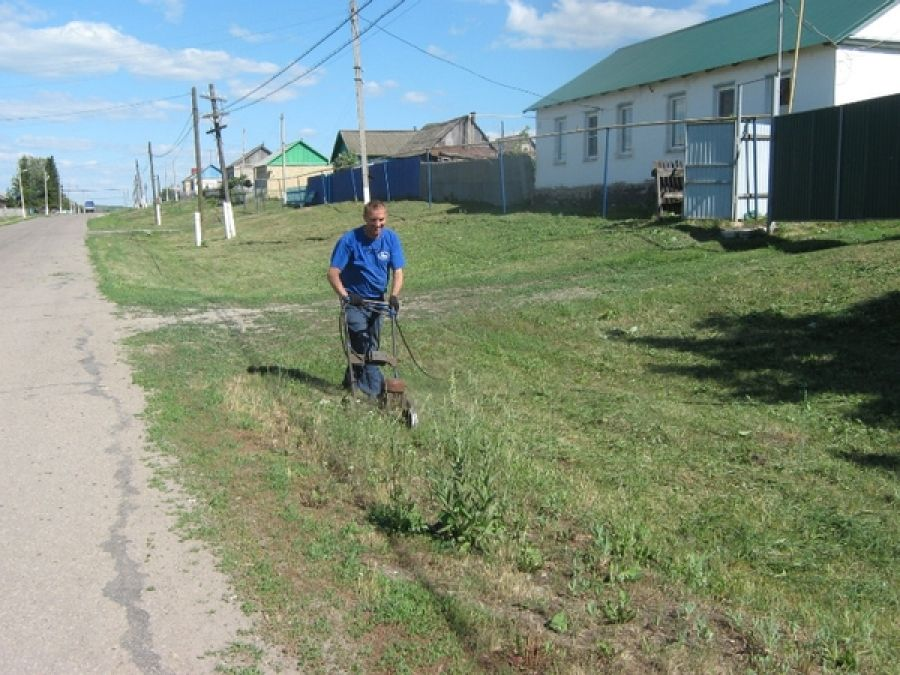 Рейды по благоустройству в селе Ягодная Поляна